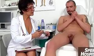 Mom pal medical pornography instalment feat. Czech Mummy debase Gabina
